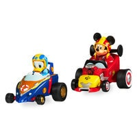 Mickey and the Roadster Racers Pullback Racers Set - Mickey Mouse & Donald Duck