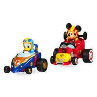 Image of Mickey and the Roadster Racers Pullback Racers Set - Mickey Mouse & Donald Duck # 1