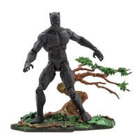 Image of Black Panther Action Figure by Marvel Select - 7'' # 1