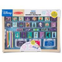 Image of Frozen Deluxe Wooden Stamp Set by Melissa & Doug # 2