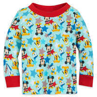 Image of Mickey Mouse and Friends PJ PALS Set for Baby # 2