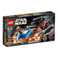 Image of A-Wing vs. TIE Silencer Microfighters Playset by LEGO - Star Wars: The Last Jedi # 5
