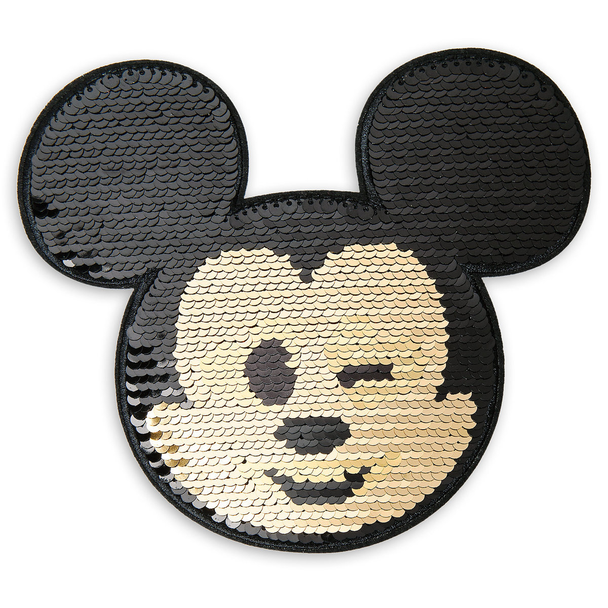 0fe96aab83b Product Image of Mickey Mouse Emoji Sequin Sticker Patch   1