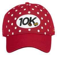 Minnie Mouse runDisney Baseball Cap for Adults - 10K - Red