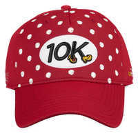 Image of Minnie Mouse runDisney Baseball Cap for Adults - 10K - Red # 1
