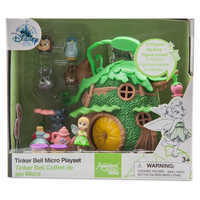 Image of Disney Animators' Collection Littles Tinker Bell Micro Doll Play Set # 3