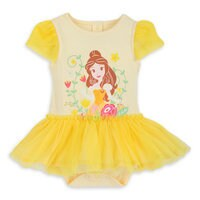 Belle Tutu Disney Cuddly Bodysuit for Baby