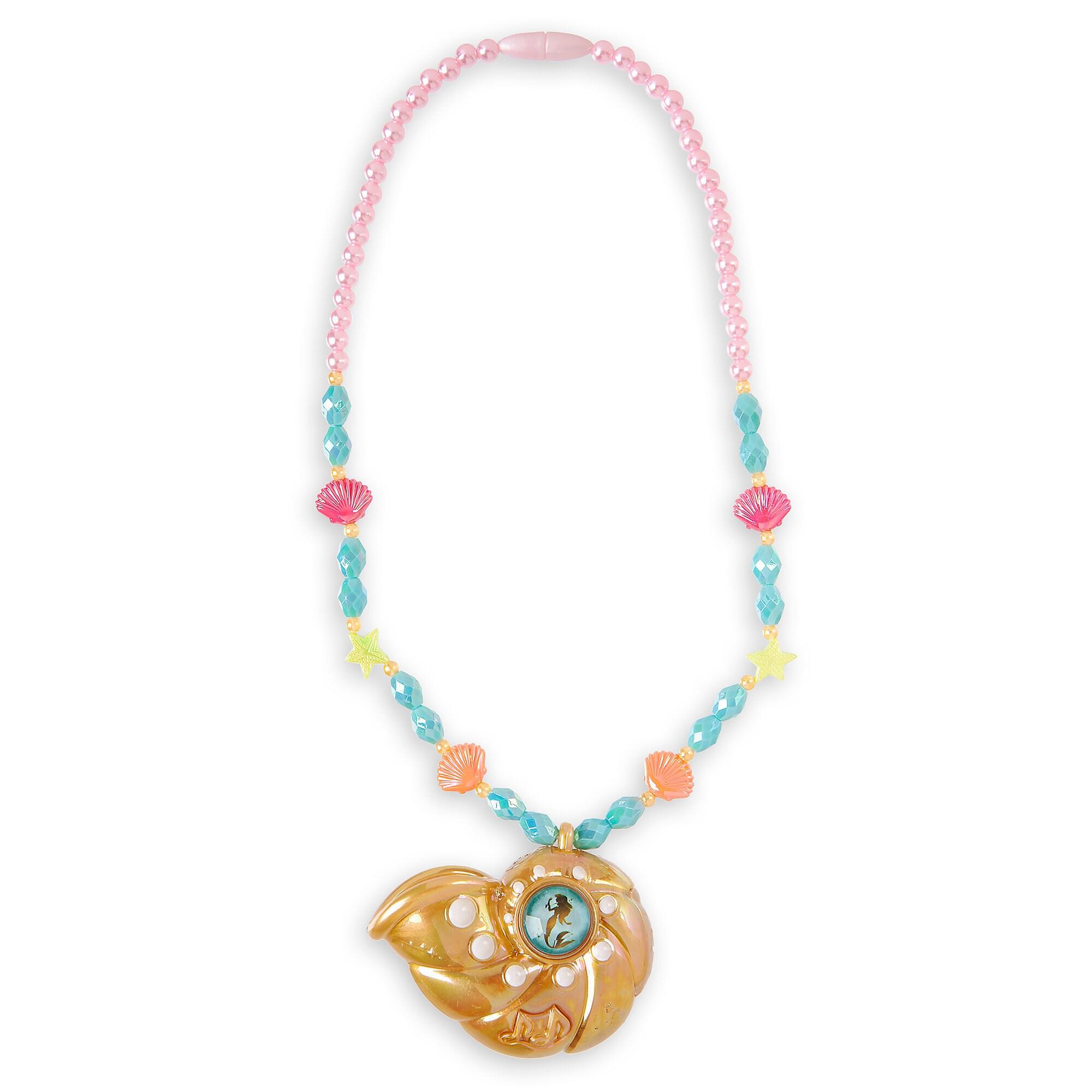Ariel Voice Recording Necklace for Kids