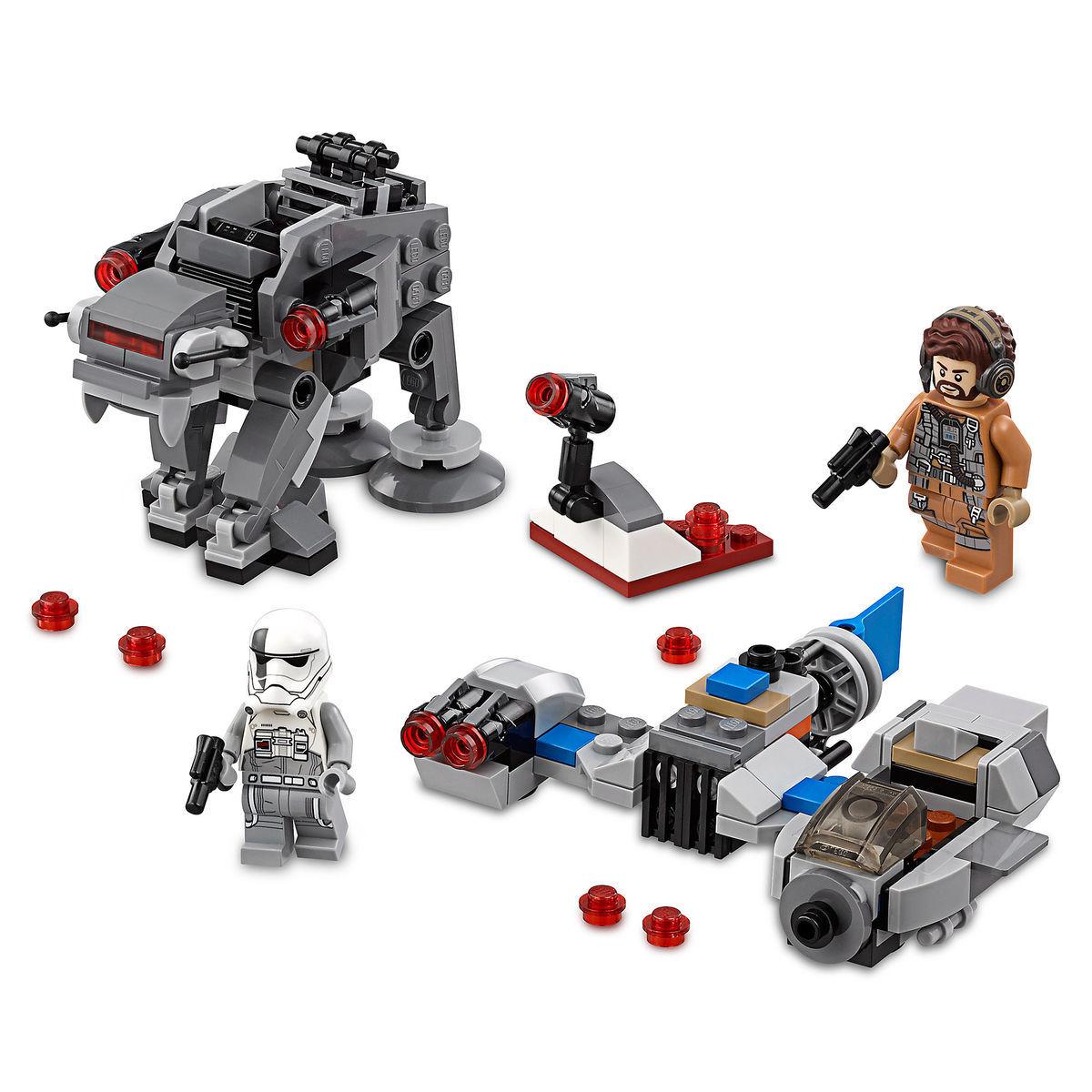 Ski Speeder Vs First Order Walker Microfighters Playset By Lego