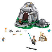 Image of Ahch-To Island Training Playset by LEGO - Star Wars: The Last Jedi # 1