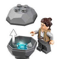 Image of Ahch-To Island Training Playset by LEGO - Star Wars: The Last Jedi # 4