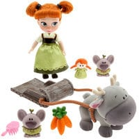 Image of Disney Animators' Collection Anna Mini Doll Play Set # 1