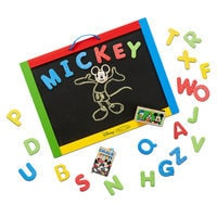 Image of Mickey Mouse Magnetic Chalkboard by Melissa & Doug # 1