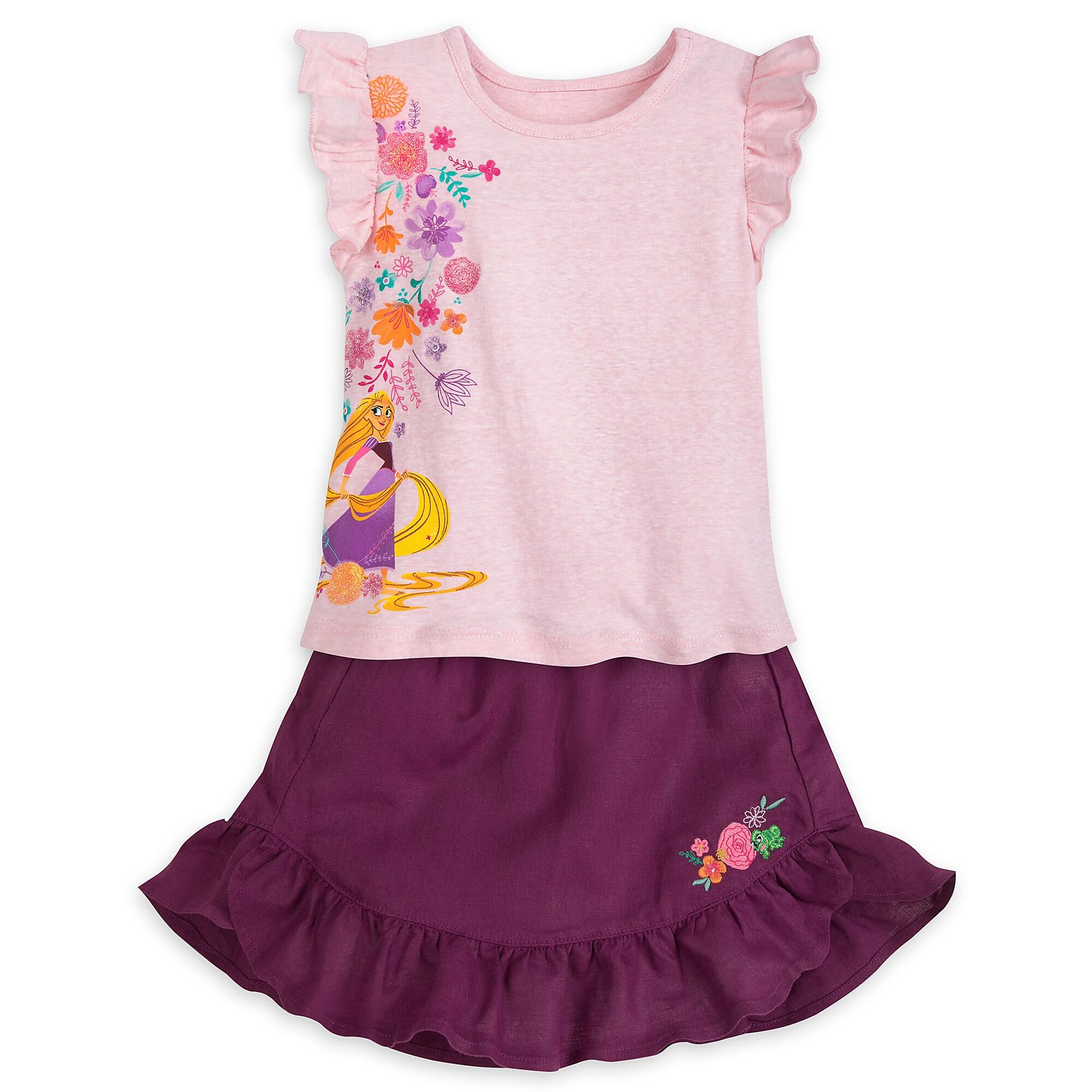 Rapunzel Skirt Set for Girls - Tangled The Series