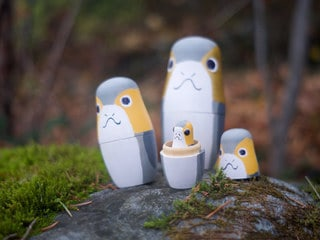 It's Time for the Jedi…to Make These DIY Porg Nesting Dolls