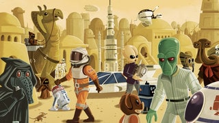 Star Wars Golden Books Illustrator Chris Kennett on Living His Drawing Dreams