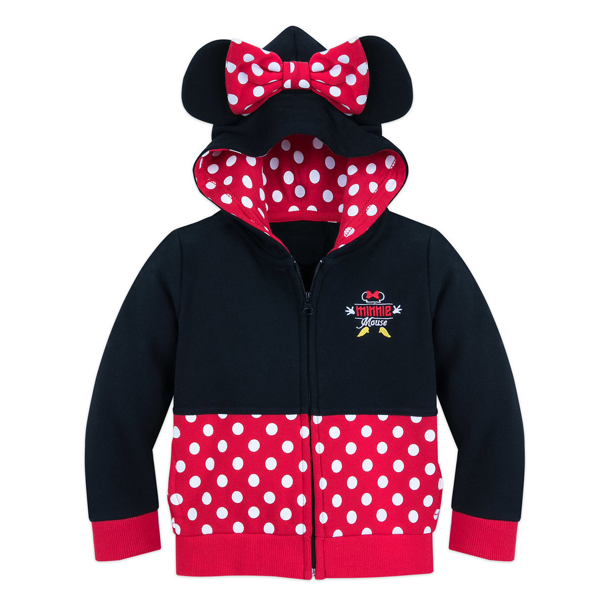 9c18e58d7d I Am Minnie Mouse Zip-Up Hoodie for Toddlers