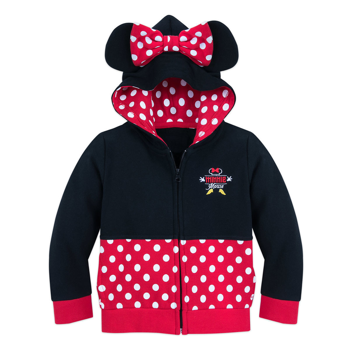 c6e3d5b15 I Am Minnie Mouse Zip-Up Hoodie for Toddlers
