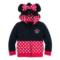 Image of I Am Minnie Mouse Zip-Up Hoodie for Toddlers # 1