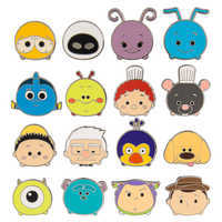 Image of PIXAR ''Tsum Tsum'' Mystery Pin Pack # 1