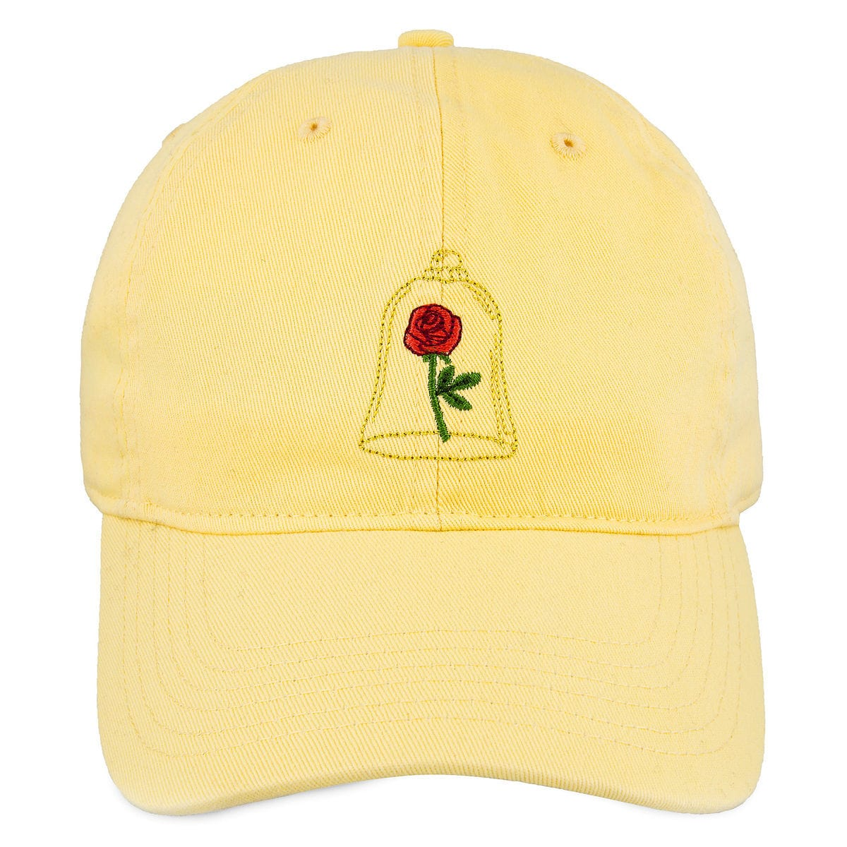 Product Image of Beauty and the Beast Enchanted Rose Baseball Cap for  Adults   1 193bca4a77f