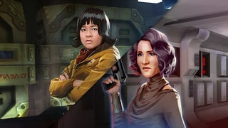 Designing The Last Jedi's Rose Tico and Amilyn Holdo for Galaxy of Heroes