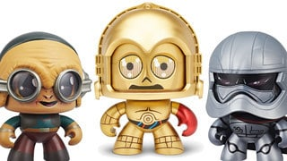 Toy Fair 2018: First Look at Captain Phasma, Maz Kanata, and C-3PO Mighty Muggs – Exclusive