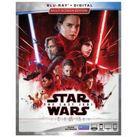 Image of Star Wars: The Last Jedi Blu-ray Multi-Screen Edition # 1