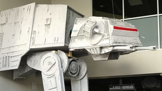 Fully Operational Fandom: This 17-Foot-Tall AT-AT Would Even Impress the Emperor