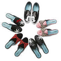 Image of Minnie Mouse Glove Mules for Women by Chiara Ferragni - Silver # 5