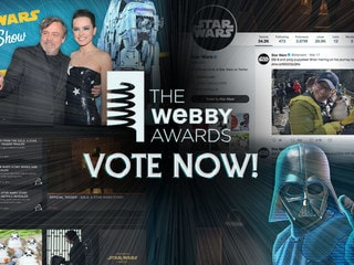 Vote for Star Wars in the 2018 Webby Awards!