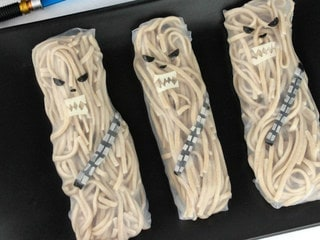 Let Out a Wookiee Roar for These Chewbacca Noodle Rolls