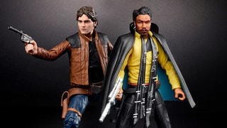 """It's Magic"": Inside Hasbro's Solo: A Star Wars Story Black Series Figures, New Millennium Falcon Toy, and More"