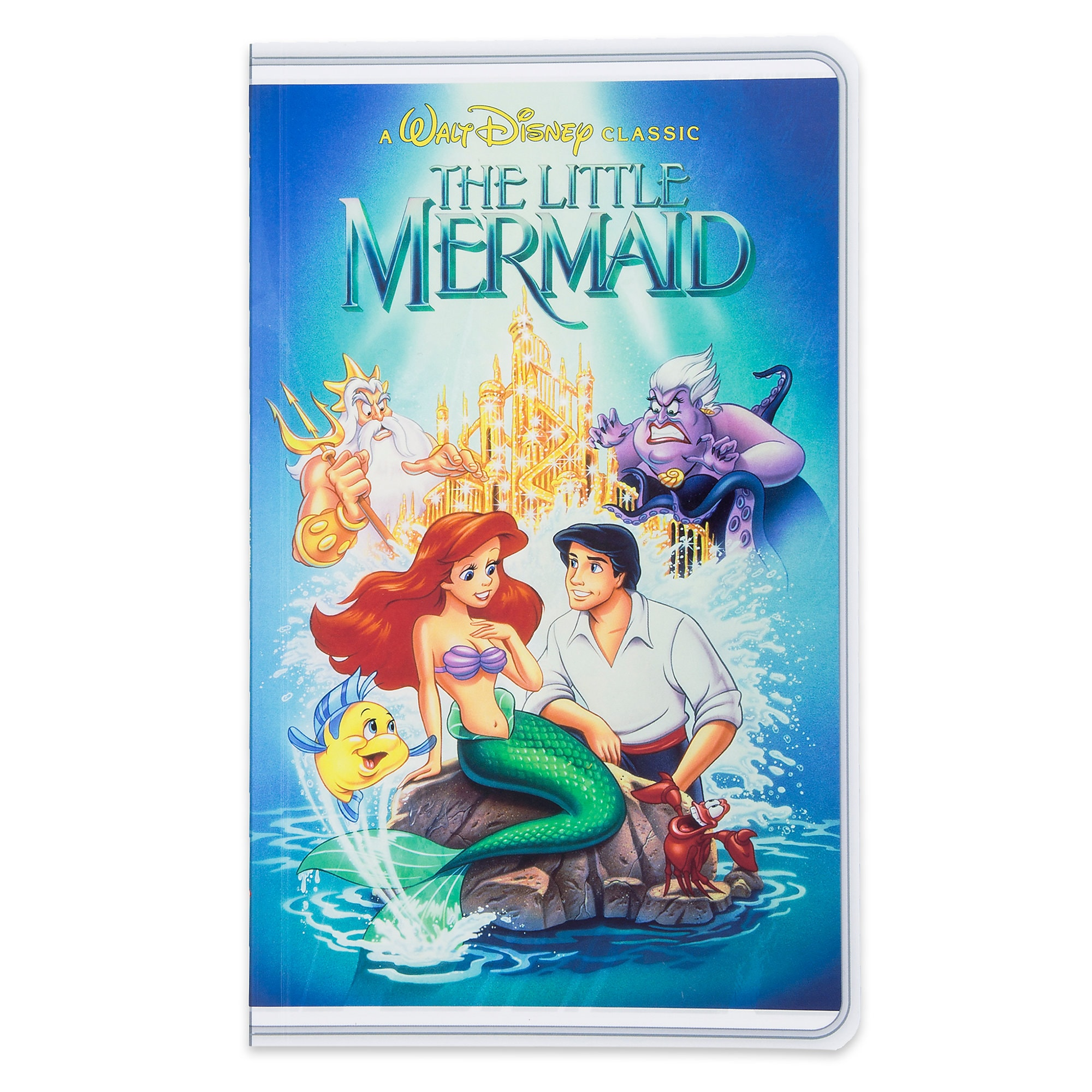 The Little Mermaid ''VHS Case'' Journal