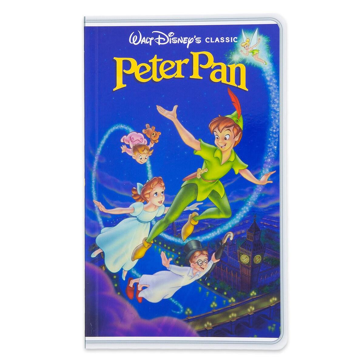 Shoptagr | Peter Pan \'\'vhs Case\'\' Journal by Disney