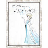 Image of Elsa Framed Wall Decor # 1