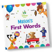Image of Disney Baby: Your First Words Book - Paperback - Personalizable # 1