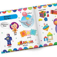Image of Disney Baby: Your First Words Book - Paperback - Personalizable # 2