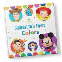 Image of Disney Baby: Your First Colors Book - Hardback - Personalizable # 1