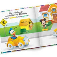 Image of Disney Baby: Your First Colors Book - Hardback - Personalizable # 2