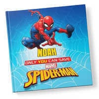 Image of Only You Can Save Spider-Man Book - Hardback - Personalizable # 1