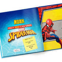 Image of Only You Can Save Spider-Man Book - Hardback - Personalizable # 2