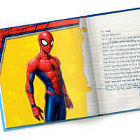 Image of Only You Can Save Spider-Man Book - Hardback - Personalizable # 3