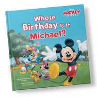 Image of Mickey Mouse & Friends Whose Birthday Is It? Book - Hardback - Personalizable # 1