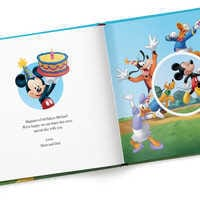 Image of Mickey Mouse & Friends Whose Birthday Is It? Book - Hardback - Personalizable # 2