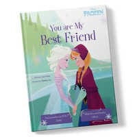 Image of Frozen: You Are My Best Friend Book - Hardback - Personalizable # 1