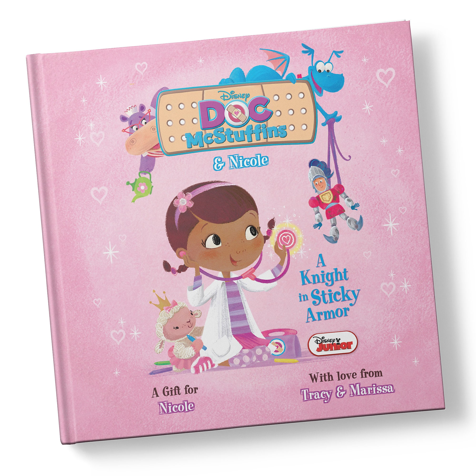 Doc McStuffins: A Knight in Sticky Armor Book - Personalizable