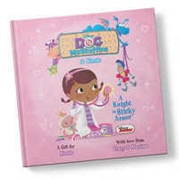 Image of Doc McStuffins: A Knight in Sticky Armor Book - Personalizable # 1