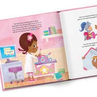 Image of Doc McStuffins: A Knight in Sticky Armor Book - Personalizable # 3