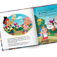 Image of Jake and the Never Land Pirates: Save Me, Smee! Book - Hardback - Personalizable # 4